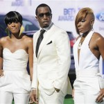 2011 BET Awards Red Carpet Arrivals Diddy Dirty Money