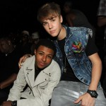 2011 BET Awards Show and Performances Diggy Simmons and Justin Bieber