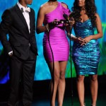 2011 BET Awards Show and Performances Terrence J, Tiffany Green, Rocsi