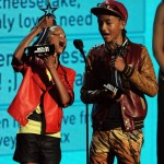 2011 BET Awards Show and Performances Willow and Jaden Smith Youngster Award