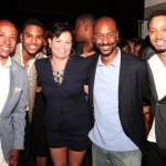 2011 BET LifeBeat party and foundation Kevin Lilies Debra Lee Stephen G Hill Terrence J Trey Songz