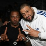 2011 BET LifeBeat party and foundation DJ Khaled Busta Rhymes
