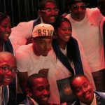 Bow Wow and Nelly Surprises the Ron Clark Academy graduates on their grad night.