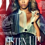 beyonce W 2011 cover