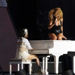 """Beyonce Performing at """"T in the Park"""" festival 2"""