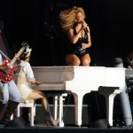 """Beyonce Performing at """"T in the Park"""" festival 5"""