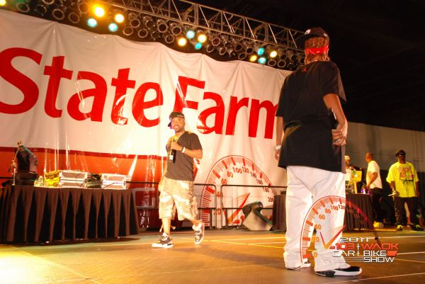 "Dem Franchize Boyz, Jermaine Dupri, Da Brat & Bow Wow Reunite to Perform ""Oh I Think They Like Me"" - 2011 Car & Bike Show Atlanta2"