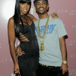 Kelly Rowland Album Release Celebration Party at Moet Rose Lounge Big Sean