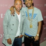 Kelly Rowland Album Release Celebration Party at Moet Rose Lounge - Big Sean Kevin Liles