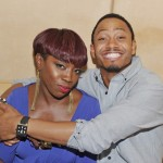 Kelly Rowland Album Release Celebration Party at Moet Rose Lounge - Terrence J and Estelle