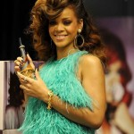 Rihanna Launches Reb'l fleur in London