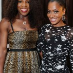 """Tyrese & Snoop Dogg Attends Carmelo & Lala Anthony's """"La La's Full Court Life"""" Premiere Party serena williams lala"""