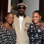 """Tyrese & Snoop Dogg Attends Carmelo & Lala Anthony's """"La La's Full Court Life"""" Premiere Party snoop dogg and lala and wife"""