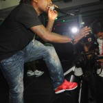 Wale Performs at Roc Nation Concert at Compound