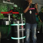 Wale Performs at Roc Nation Concert at Compound 3