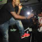 Wale Performs at Roc Nation Concert at Compound 4
