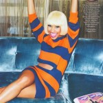 Glamour Magazine- Nicki Minaj Talks Insecurities & Down time