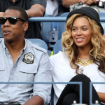 Jay-Z & Beyonce Attends The Men's US Open Finals