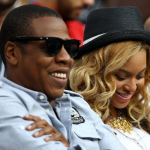 Jay-Z & Beyonce Attends The Men's US Open Finals 2