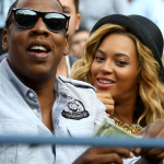 Jay-Z & Beyonce Attends The Men's US Open Finals 5