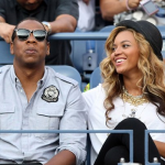 Jay-Z & Beyonce Attends The Men's US Open Finals 6