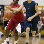 LudaDay Weekend- Justin Bieber Wins Over Ludacris at Celebrity Basketball Game Chris Paul