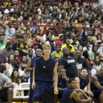 LudaDay Weekend- Justin Bieber Wins Over Ludacris at Celebrity Basketball Game Justin
