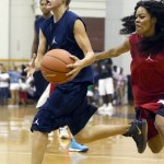 LudaDay Weekend- Justin Bieber Wins Over Ludacris at Celebrity Basketball Game Teyana Taylor