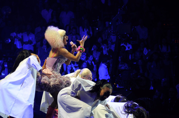 "Nicki Minaj Performing ""Y.U.Mad"", ""Moment 4 Life"" & ""Super Bass"" at iHeartRadio Music Festival 3"