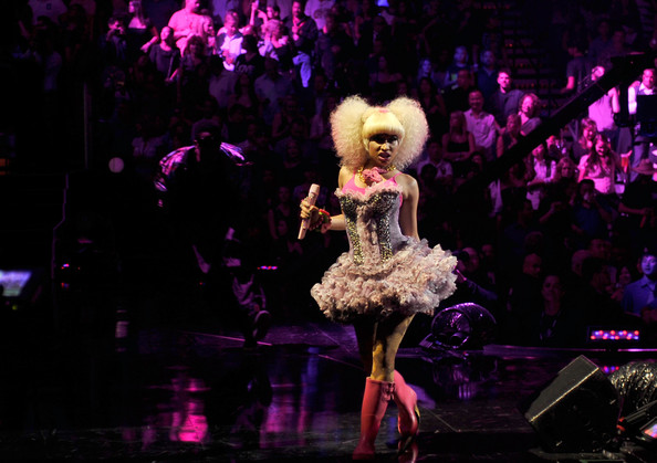 "Nicki Minaj Performing ""Y.U.Mad"", ""Moment 4 Life"" & ""Super Bass"" at iHeartRadio Music Festival 6"