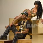 "On Set- Kelly Rowland & Big Sean ""Lay it on Me"" Video Shoot Big Sean"