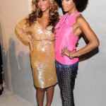 Vera Wang- Beyonce & Solange at Spring 2012 Mercedes-Benz Fashion Show 7