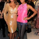 Vera Wang- Beyonce & Solange at Spring 2012 Mercedes-Benz Fashion Show 9