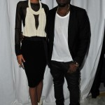 Ciara, Kanye West & Jennifer Hudson Hits up Givenchy's Fashion Show - Chanel Iman and Kanye West