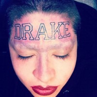 "Tattoo Artist Who Tatted ""DRAKE"" on Girls Forehead Think She's a Dumbass 2"