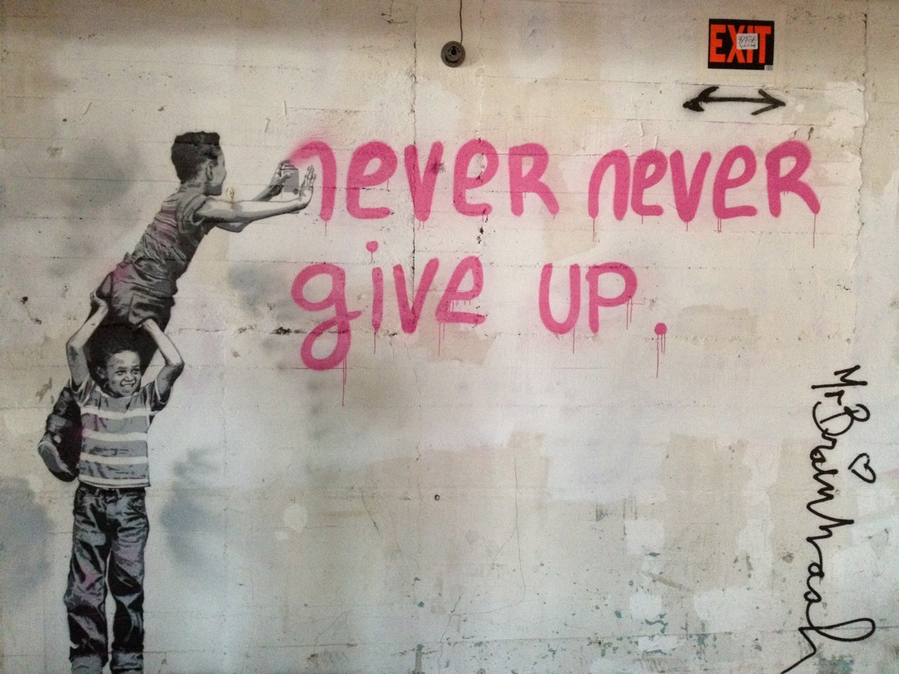 quotes by mr brainwash like success