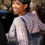 Brandy Spotted in NYC 2012