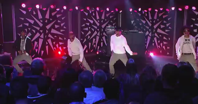 "Mindless Behavior Performs ""Girls Talkin Bout"" on Jimmy Kimmel Live"