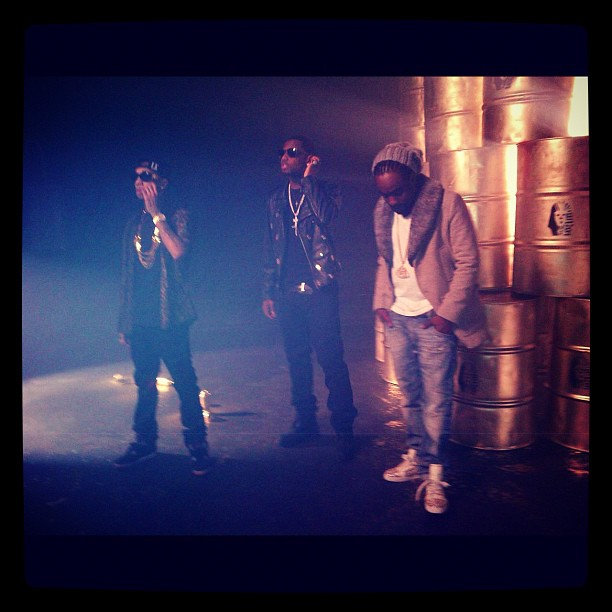 """Rack City"" Remix Video Shoot"