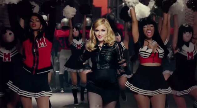 "Madonna ft. Nicki Minaj & M.I.A. - ""Give Me All Your Love"" Video"