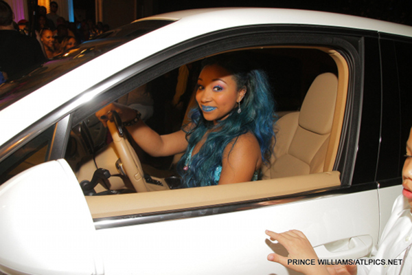 OMG Girlz's Star Sweet 16 Birthday Bash - Diggy Simmons, Justin Combs, Nelly & More - Zonnique Porsche Truck