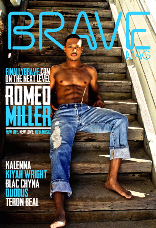 Romeo Covers Brave Magazine, Speaks on Women & The Industry