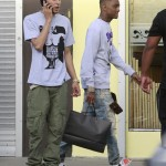 drake-rihanna-soulja-boy-romeo-spotted-out-march-2012- Soulja Boy Khleo Thomas