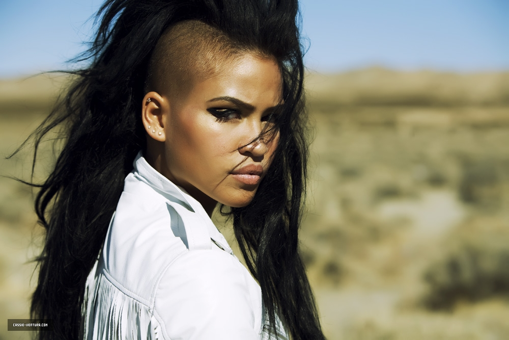 Cassie Photo Shoot with Marc Baptiste & Behind The Scenes with Kanye West and Diddy 2