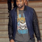 Kanye West in New York City with Kim Kardashian at ArtGate Gallery 4