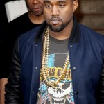 Kanye West in New York City with Kim Kardashian at ArtGate Gallery 5