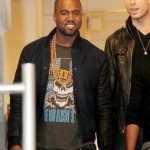 Kanye West in New York City with Kim Kardashian at ArtGate Gallery 6