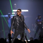 Usher at iHeart Radio Music Festivial 10