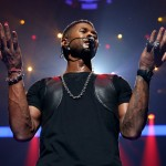 Usher at iHeart Radio Music Festivial 11