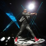 Usher at iHeart Radio Music Festivial 3